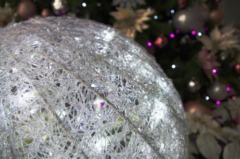 クリスマスの電飾