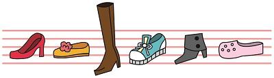玄関の靴達
