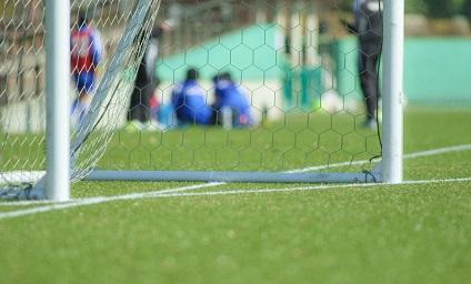 サッカーゴールの写真